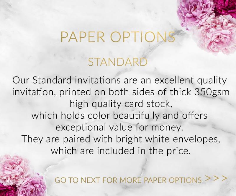 Rose Gold & Glitter Hens Party Invitation | Modern Elegant Printed ...