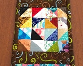 Scrappy mini quilt sampler
