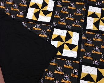 Handmade lap quilt - your choice of favorite sports team