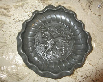 ANTIQUE PEWTER WALL Decor