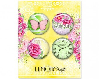 NEW Lemoncraft Fresh Summer Buttons / Badges
