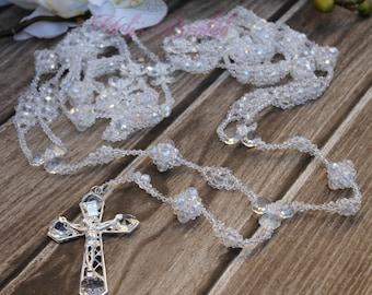 FAST SHIPPING!! Beautiful Sparkling Silver Wedding Lasso, Vintage Wedding Lasso, Lazo de Bodas, 25th Anniversary, Wedding Gift, Unity Cord