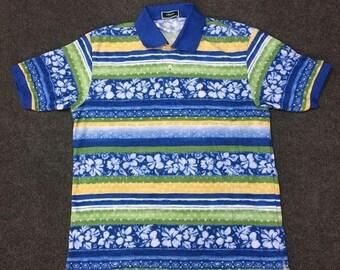 On Sale 28% Vintage Ellesse Golf Perugia Italia Sport 90s  L Shirt
