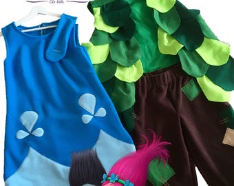 Princess Poppy Troll Costumes for Adults
