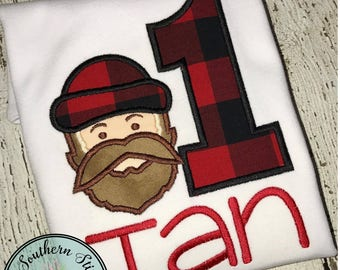 Lumber Jack Applique Design ~ Paul Bunyan ~ Instant Download