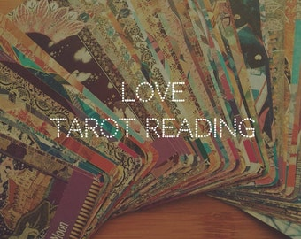Love Tarot Reading // 4 Card Tarot Reading // FREE Instant Download
