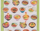 Japanese Stickers - Japanese Food Stickers - Mind Wave Stickers - Reference A5804