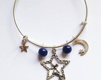Metal sea Mermaid Stretch Bracelet