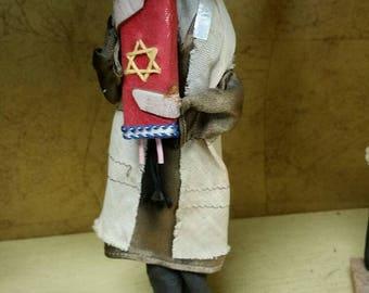 Handmade Israel Religious Male Doll