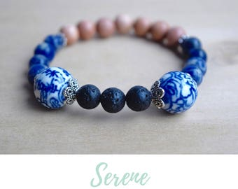 Sodalite Bracelet / mother in law gift, energy bracelets, stress relief gifts, yoga jewelry women, psychic guidance, spiritual guidance