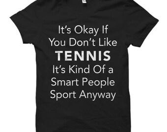 Tennis Shirt for Tennis Fan Shirt Tennis Gift for Tennis Player Shirt Tennis Shirts Tennis Player Gift Ideas Tennis Fan Shirts Tennis #OS616