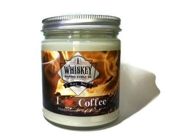Coffee Candle, Coffee Lovers, I love Coffee, Gift for Reader,  Coffee Shop, Dad Gift, Husband Gift, Coffee Lover Gift, Espresso