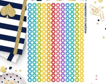 216 Tiny Star Icon Planner Stickers! SB394
