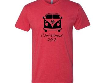 VW Bus, V W T Shirt, VW Bus Shirt, Shirt for Dad, Christmas Shirt for Men, Funny Christmas Shirt, Christmas Shirts, Dad Gifts, Dad Shirt