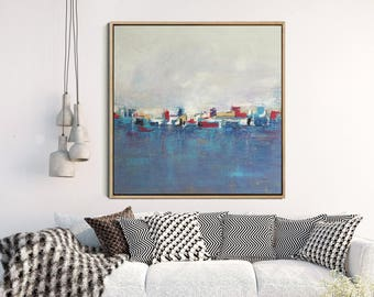 Abstract Painting, Abstract Art, Giclee Print , Modern Art , Contemporary Art, Abstract Landscape