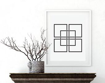 Minimalist Art Print, Print  Art, Abstract Art, Scandinavian Art, Abstract Wall Art, Modern Art Print, print