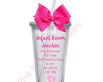 Daycare teacher gift etsy infant room teacher gift daycare teacher gift daycare worker negle Images