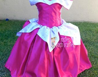 Aurora Sleeping Beauty dress for Birthday costume or Photo shoot Aurora dress outfit Birthday dress costume Princess dress Birthday party