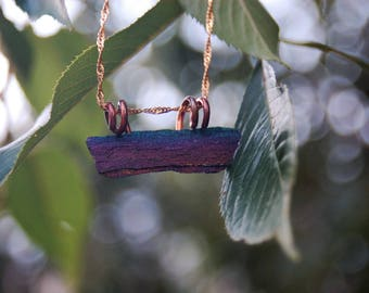 Rainbow Hematite Pendant