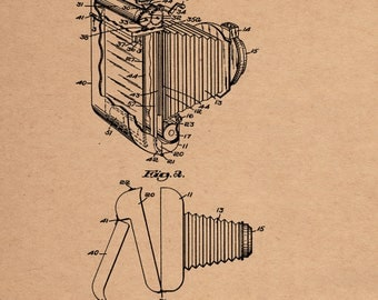 Developing Camera Patent #2,435,717 Dated Feb. 10, 1948.