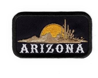 Arizona Patch Nevada Desert Sunset Iron/Sew on Patch Badge #179