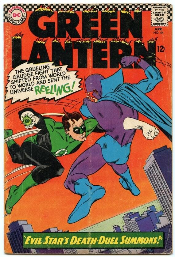 Green Lantern 44 Apr 1966 VG+ (4.5)