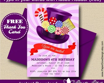 il 340x270.1359451410 9gcn Top Result 60 Unique Willy Wonka Invitations Templates