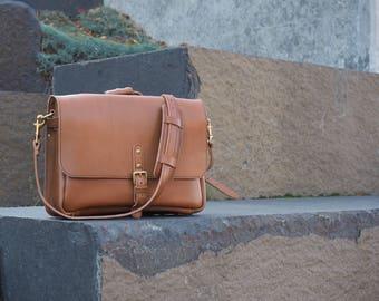 Leather US Postal Bag | Mens Leather Messenger Bag | Leather Satchel For Men | Vintage Leather Mail Bag | Leather Laptop Bag | Briefcase