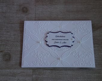 congratulations to the newlyweds, married names, pockets, card