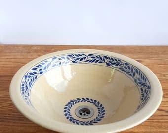 stoneware vessel sink stoneware sink handmade sink ceramic sink ceramic rustic vessel