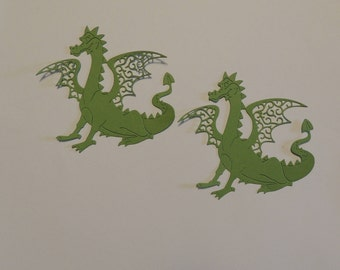Dragon Die Cuts, Halloween Die Cuts, Boy Die Cuts, Fantasy Die Cuts, Scrapbooking, Cardmaking