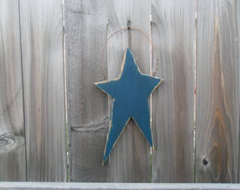 Blue Primitive Star