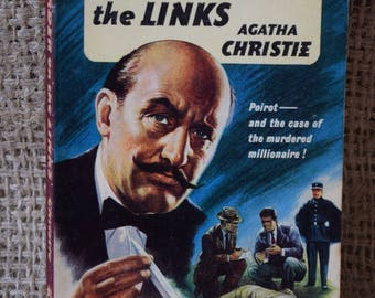 The Murder on the Links. Agatha Chrisite. Hercule Poirot. Great Pan Books. A Vintage Ladybird Book. 1960