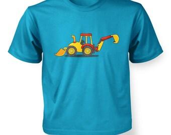 Digger kids t-shirt
