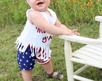 Stars and Stripes Collection Shorts