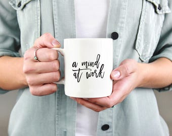 Hamilton | Coffee Mug | A Mind at Work