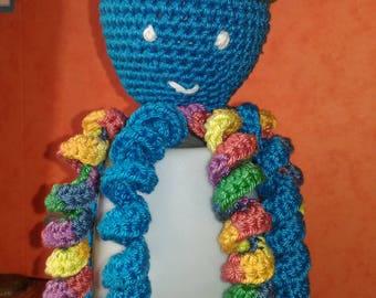 Octopus, Octopus, octopus pattern crochet boy