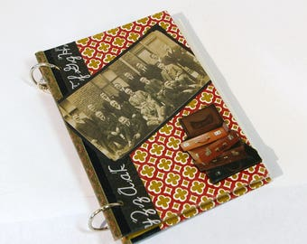 Vintage Book Journal Scrapbook