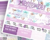 I Believe Monthly Kit (CHOOSE YOUR MONTH!)- Planner Stickers
