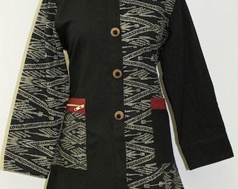 Stylish Asymmetrical Jacket  - FA16-4817