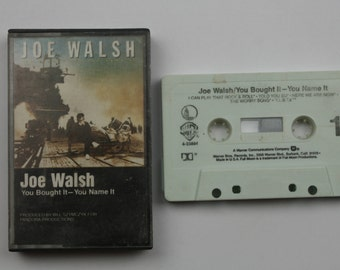Joe Walsh You Bought it You Name It Cassette Tape