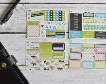 NO CODES PLEASE! Kitty Kitty Mini Kit | Made to fit any planner! 559L