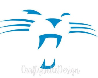 Carolina Panthers Decal | Carolina Panthers | Carolina Panthers Sticker | Carolina Panthers Car Decal | Football Decal | Panthers Fan Decal