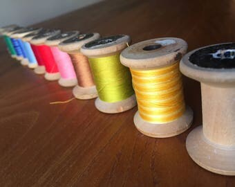 Embroidery threads Vintage/Vintage embroidery threads.