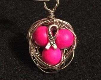 Bird Nest Necklace Pendant
