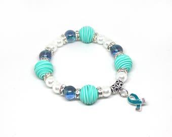 Ocd Bracelet - OCD Awareness Bracelet - Ocd Jewelry - OCD Awareness - Ocd - Ocd Gift - Support Gift - OCD Support Gift - Ocd Ribbon