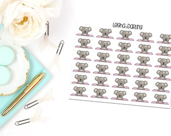 Yoga Planner Stickers
