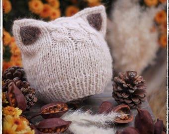 Fox knitting pattern Etsy