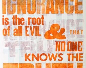 Ignorance & Truth