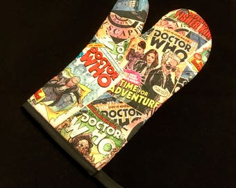 Doctor Who Comicbook Oven Mitt